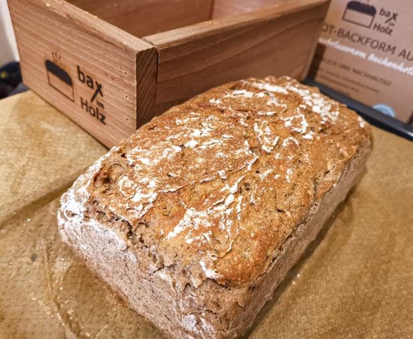 Baking with Bax im Holz