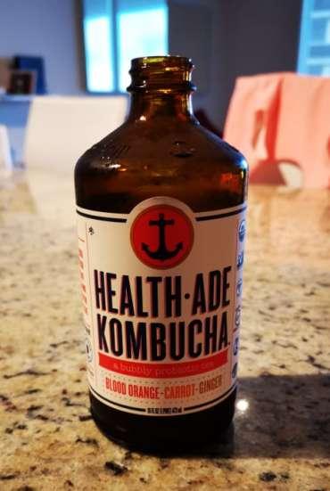 Health ade, store-bought Kombucha